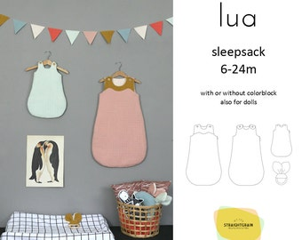 Lua Sleep Sack pattern