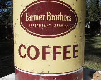 Farmer Brothers Extra Large Coffee Can