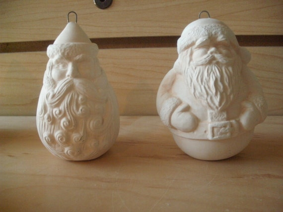 unpainted ceramic bisque ready to paint first christmas