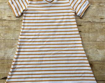 Darcy Tshirt dress, tshirt dress, dress, short sleeve, girl dress, toddler toddler dress, knit dress, spring dress, summer dress