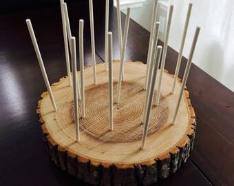 Wood Cake Pop Stand (17 Pop)