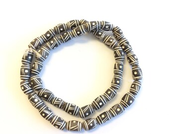 African Mali Clay Trade Beads