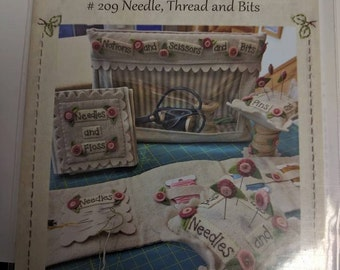 Bareroots #209 Needle, Thread, and Bits Pattern and Kit