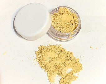 YELLOW Mineral Corrector Loose Powder Concealer Makeup