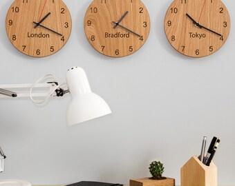 Personalised Places Clocks