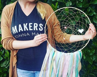 """Extra Large 14"""" Custom Dreamcatcher, Any Colors"""