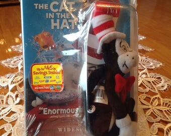 The Cat in the Hat,  Original CD in original wrapping with stuffed Cat in a Hat, Collectors item, Cute and collectable! Its a win win!!