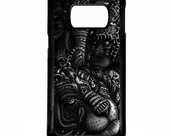 African animals tiger elephant gorilla illustration pattern ar rubber gel silicone cover for samsung galaxy s5 s6 s7 edge phone case cover
