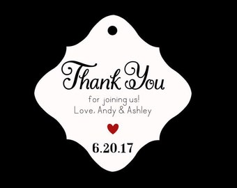 GT01 Wedding Favor Personalized Gift Tags