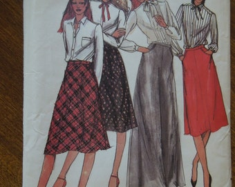 Butterick 3321, size 12, skirts, womens, misses, UNCUT sewing pattern, craft supplies,