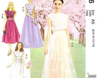 MP306, MP500, 7355, McCalls,  Misses' dress, Prom Dress, Bridesmaid dress, Maxi Dress, Wedding dress, Bridal Dress, Evening Dress