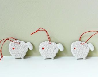 Lamb ornament  Etsy