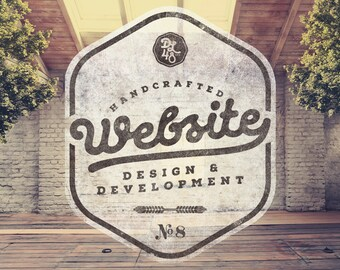 Handcrafted Website Design & Development by a Professional Web Developer and Graphic Artist