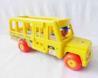 Fisher Price School Bus 1965