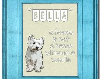 Westie / Westie Gifts / Westie Dog / Westie Art / Home Decor / Home Decor / Gift For Her / Dog Lover Gift/ Funny Westie Dog Gift