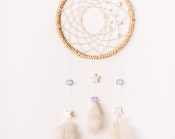 Festival Dreamcatcher, Boho, celestial, Fairy Dreamcatcher, pastel, star dreamcatcher, mother of pearl, wall hanging