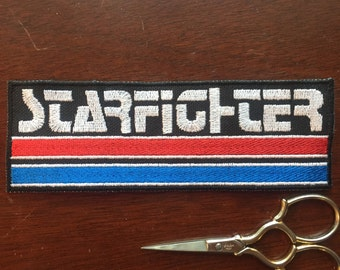Starfighter 6x2in. Sew-on patch: the Last Starfighter