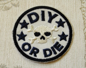 Crafting merit embroidered iron on patch: DIY or die.