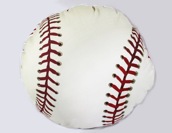 Baseball Vintage Style Floor Pouf Pillow