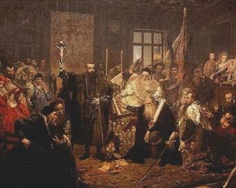 The Union Of Lublin PDF Cross Stitch Pattern
