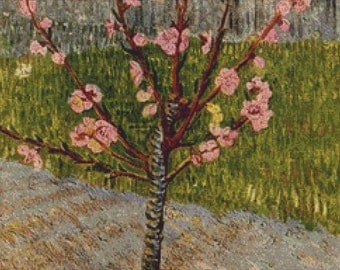 Almond Tree In Blossom PDF Cross Stitch Pattern