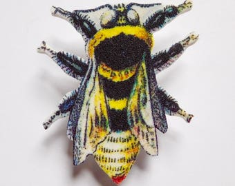 Red-tailed Bumblebee Pin