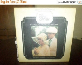 Save 30% Today Vintage 1974 Vinyl LP Record The Great Gatsby Original Soundtrack 2 Record Set Excellent Condition 6019