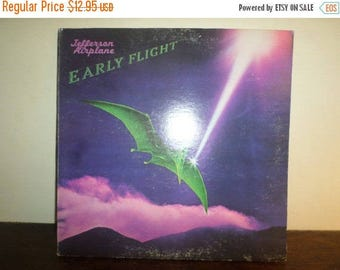 Save 30% Today Vintage 1974 Vinyl LP Record Early Flight Jefferson Airplane Excellent Condition 9529