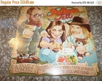 Save 30% Today Vintage 1978 Vinyl LP Record I'm Gonna Tell Cathy Fink Duck Donald Peter Paul Van Camp 160