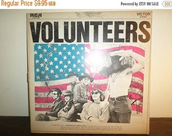 Save 30% Today Vintage 1969 Vinyl LP Record Volunteers Jefferson Airplane Very Good Condition 11121
