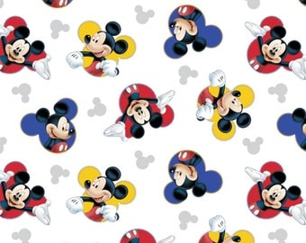 Disney Fabric Mickey Mouse Fabric The One and Only Quilting Fabric From Springs Creative Fabric