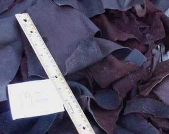 Brown leather scraps , Brown scrap leather , Leather scraps brown , Leather remnants, Craft leather scraps
