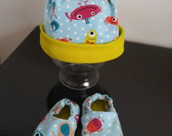 Welcome Home Newborn Set - 2pc - Alien Monsters