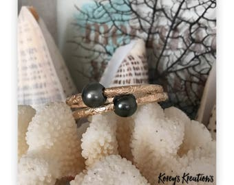 Tahitian Pearl Heirloom Bangle