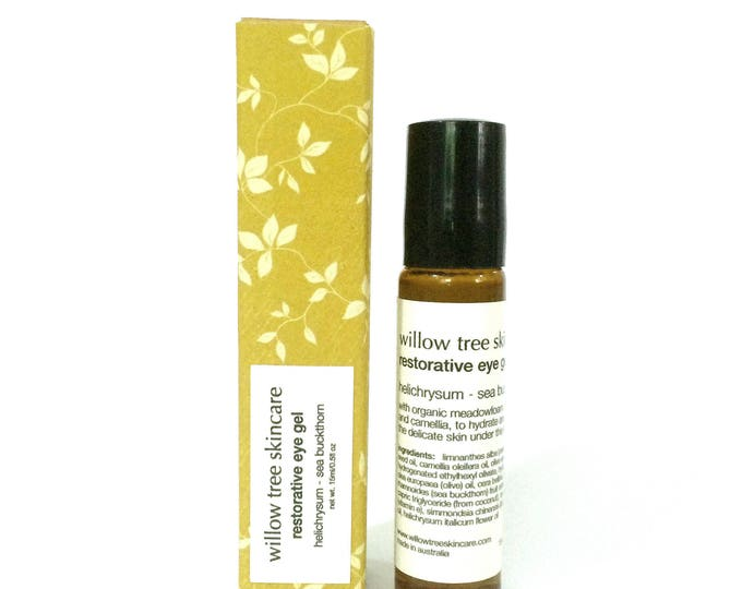 Featured listing image: Restorative Eye Gel / Serum with Abyssinian, Helichrysum and Sea Buckthorn