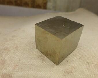 Pyrite Cube Specimen #5 - Spanish Pyrite - High Grade Pyrite