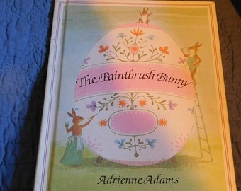 The Paintbrush Bunny by Adrienne Adams