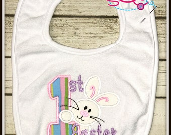 First Easter Bib--For Boys or Girls--See Various Pictures!