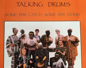 Talking Drums - Sam Day Catch Some Day Down - vinyl record
