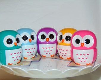Lot of 5 Owl Lip Glosses...super cute!