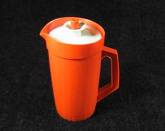 Vintage Tupperware Toys Pitcher, Child's Tupperware, Miniature Tupperware, Juice Pitcher