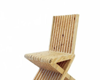 Symbiosis Chair DIY Woodworking Plans