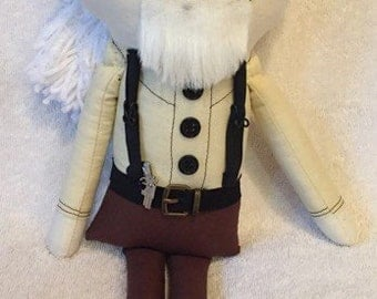 "Creepy n Cute Zombie Doll - ""Hershel"" - Inspired by TWD (D & P)"