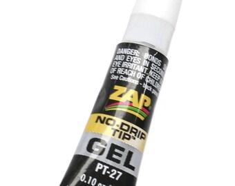 Zap Gel Glue ~ Strong Non Drip Adhesive For Jewellery Making, Kumihimo, Macrame & Braiding Etc~ Jewellery Making Essentials