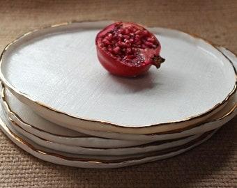 Copper Rimmed Platter [Large]