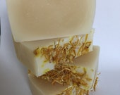 Rice Bran Soap - All Natural Soap, Handmade Soap, Unscented Soap, Gentle Soap