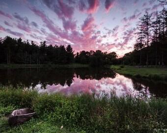 Sunset at Camp Kirchenwald 2