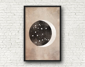 Gemini Constellation, Gemini Art, Wall Art Prints, Art Print Poster, Gemini Zodiac, Zodiac Print, Zodiac Sign