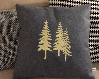 TREE of GOLD cushion