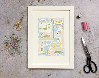 A4 Print - Sewing Supplies